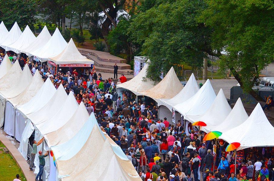 Feira acontecerá na Praça da República neste ano