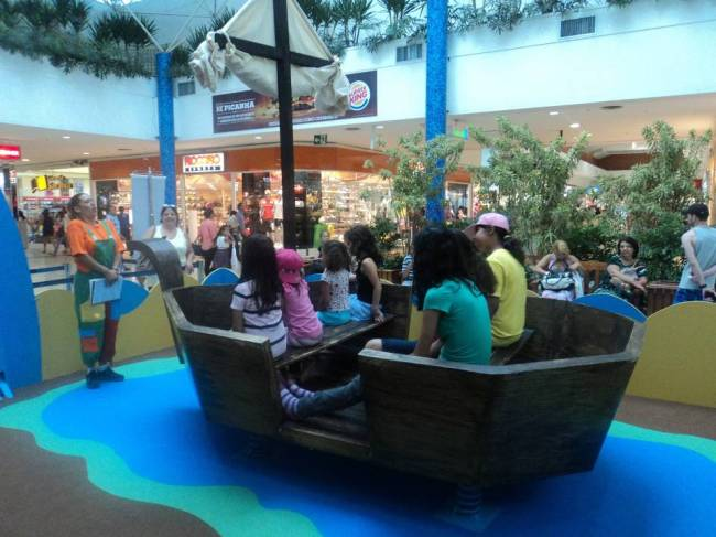 Férias no Shopping Interlagos