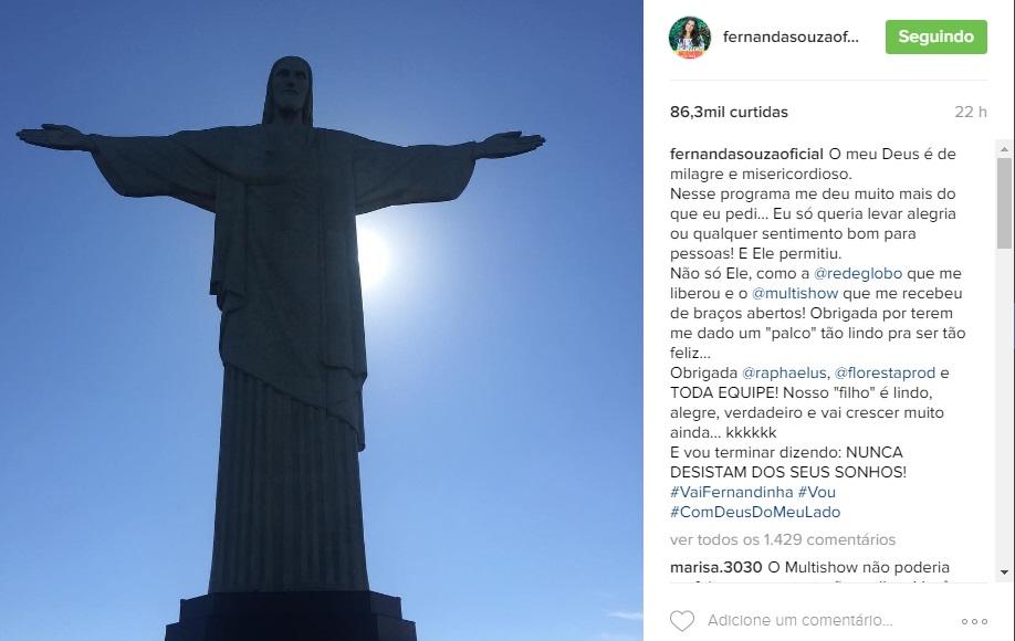 Fernanda Souza instagram