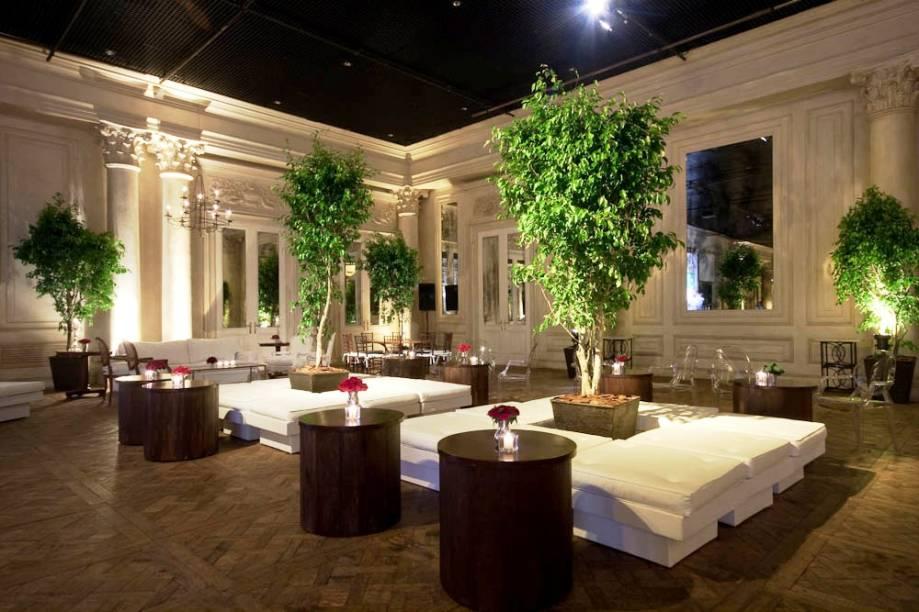 Leopolldo Itaim: espaço para festas e eventos é composto por dois salões e um hall