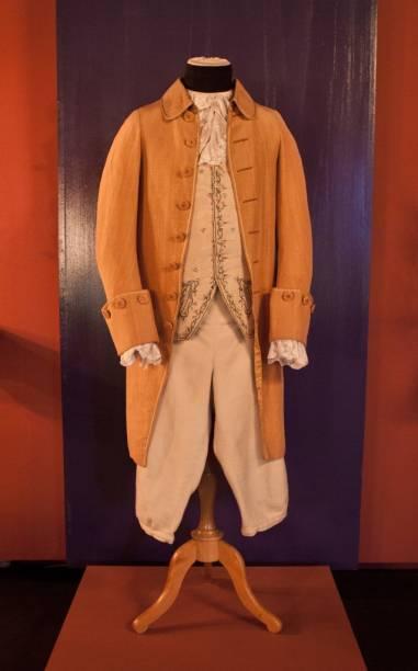 Figurino original utilizado em Barry Lyndon