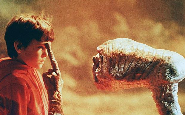 E.T. - O Extraterrestre (1982) – 25, 26 e 29 de julho