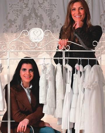 Patricia e Nathalie: loja de 1 milhão de reais no Iguatemi (Foto: Fernando Moraes)