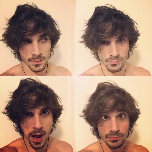 O cantor interage com suas fãs e posta várias fotos engraçadas (Foto: Reprodução/Instagram)