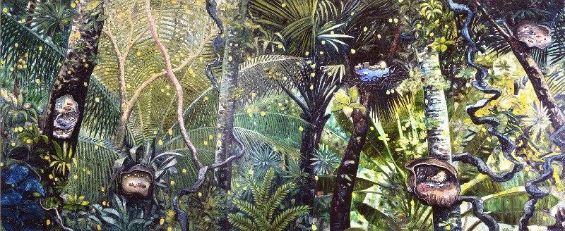 Five Nests (2012): o sublime na natureza surge na forma de uma selva densa e impenetrável