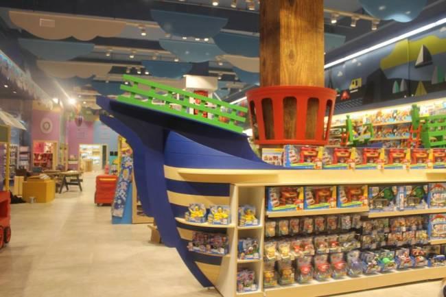Ri Happy - loja-conceito no Shopping Cidade São Paulo