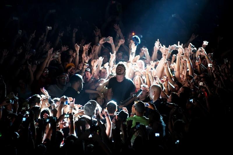 Foo Fighters no Lollapalooza de Chigago, em 2011