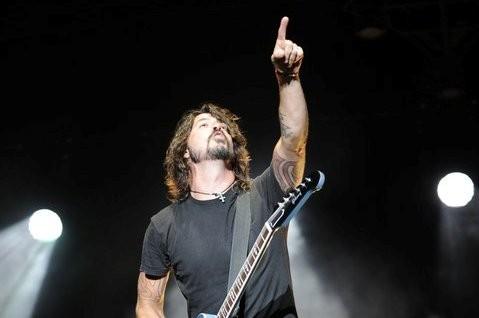 Dave Grohl, líder do Foo Fighters