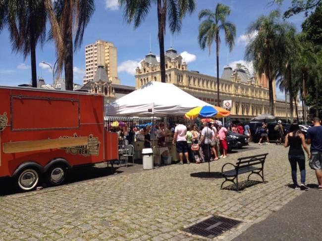 Food truck na Pinacoteca