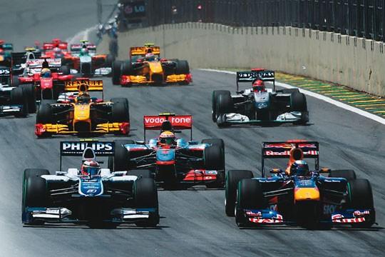 Largada em 2010 na capital: a saga paulistana na F1 começou em 1972, há quase quarenta anos