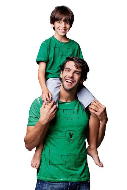 Kaká e Luca: 100 000 reais para festa de aniversário