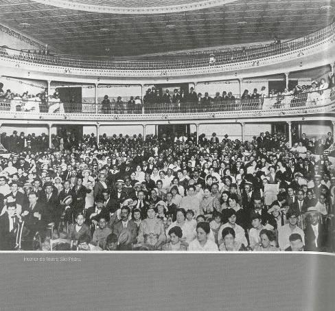 A história do surgimento dos cinemas na capital ganha