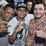 Cristian Guedes (centro) ao lado de Kleber Bambam (Foto: Reprodução)