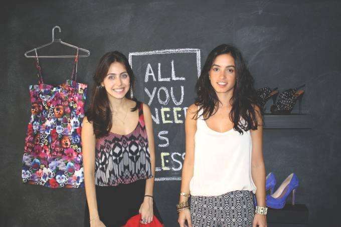 foto_ Giovanna e Raquel – criadoras do Projeto Gaveta