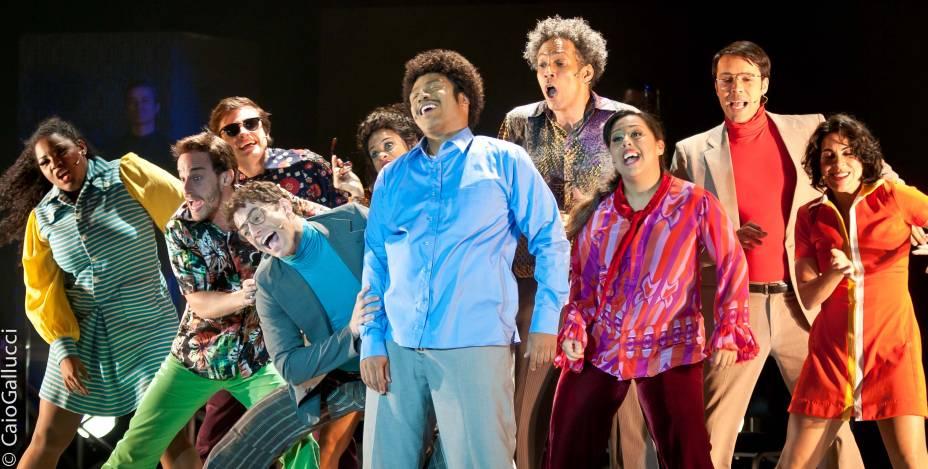 O novo elenco do musical Tim Maia: reestreia no teatro Procópio Ferreira