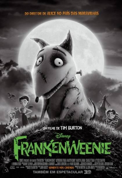 Pôster de Frankenweenie: novo filme de Tim Burton