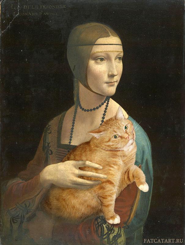 funny-fat-cat-old-paintings-zarathustra-svetlana-petrova-4
