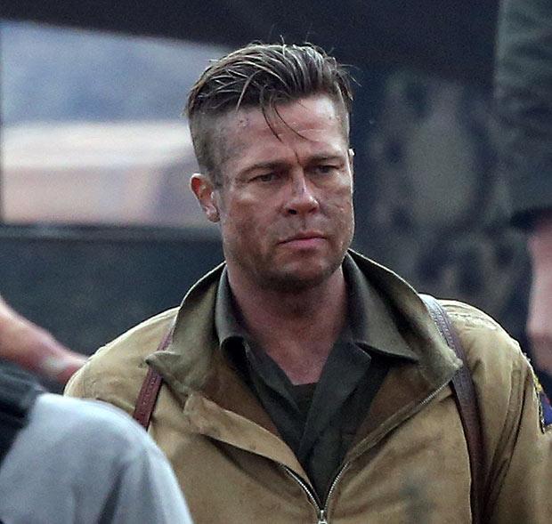 Brad Pitt interpreta um sargento no fim da II Guerra
