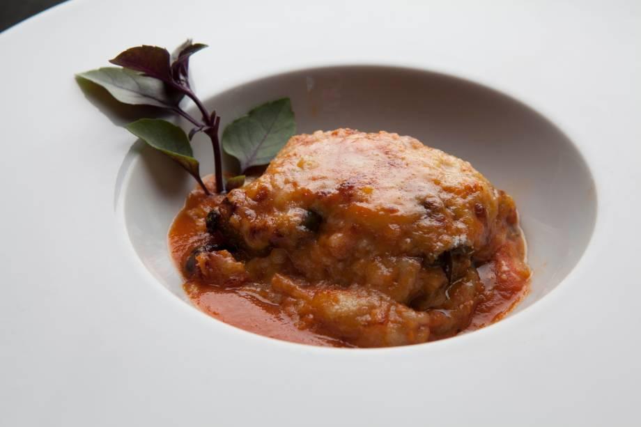 A berinjela à parmigiana: uma das mais atraentes opções de entrada