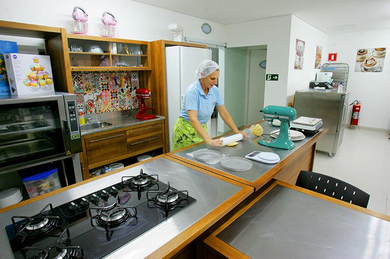 Escola de cozinha.