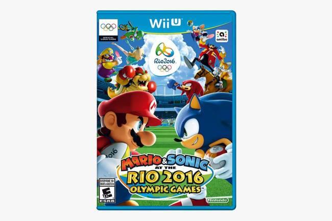 Jogo para Nintendo Wii U Mario & Sonic nos Jogos Olímpicos do Rio.