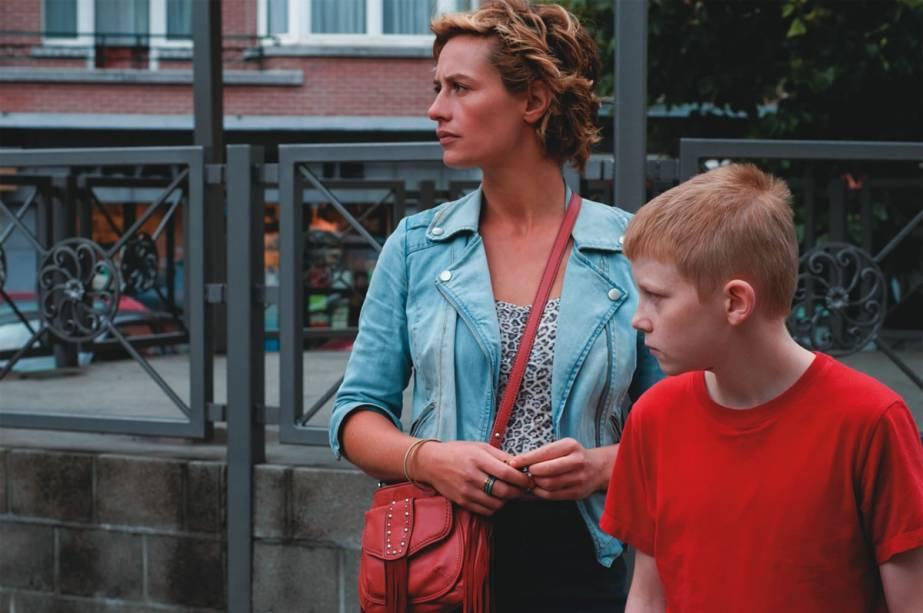 Cécile De France e Thomas Doret: sintonia perfeita e atuações excelentes no drama belga O Garoto da Bicicleta