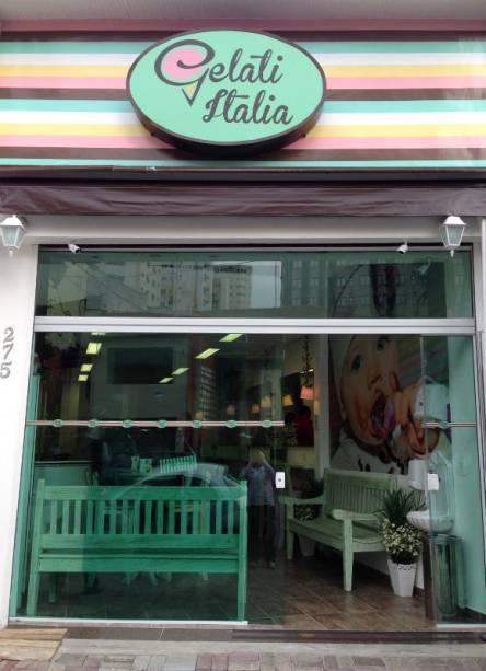 Gelati Italia: sorvete artesanal