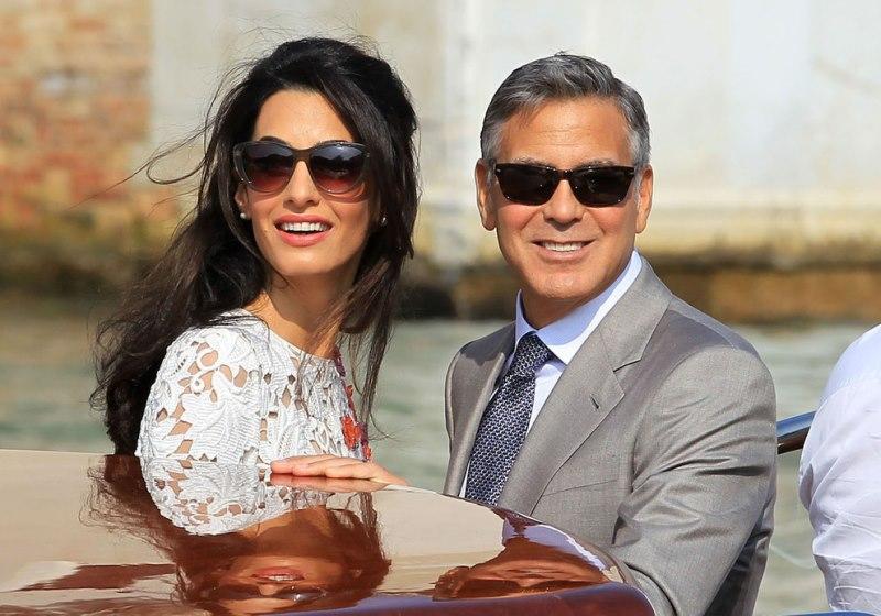 Casamento de Clooney com a advogada Amal pode ter sido uma jogada política