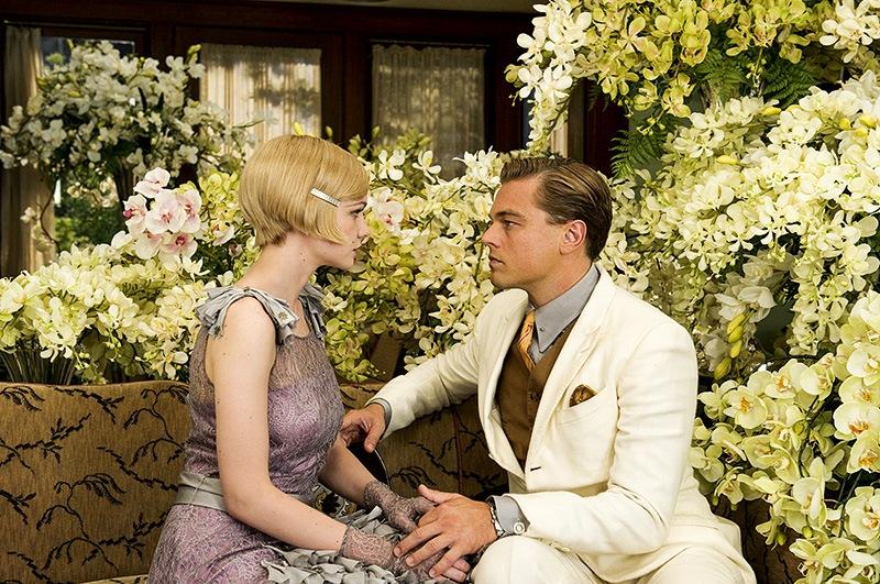 O Grande Gatsby: Carey Mulligan e Leonardo DiCaprio: romance com firulas, mas sem faíscas