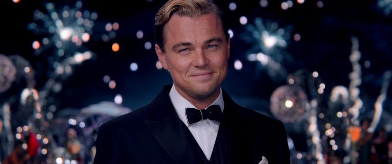 O Grande Gatsby: o ator Leonardo DiCaprio