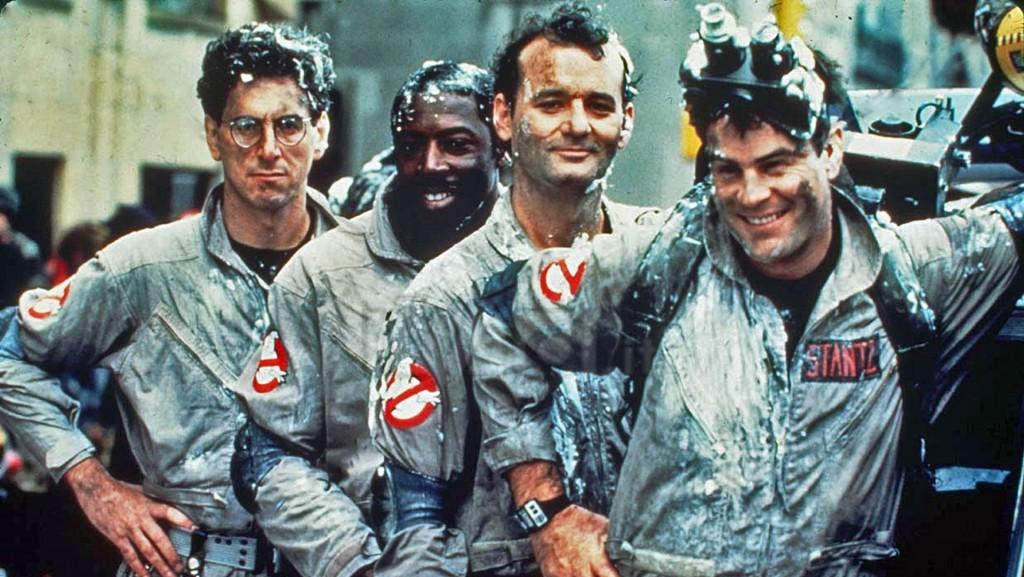 A comédia Ghostbusters: 11, 12 e 15 de outubro