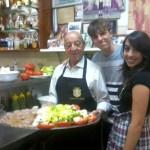 Com os netos Giovanni e Leticia