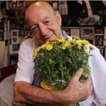 Apaixonado pelas flores (Fotos: acervo pessoal)