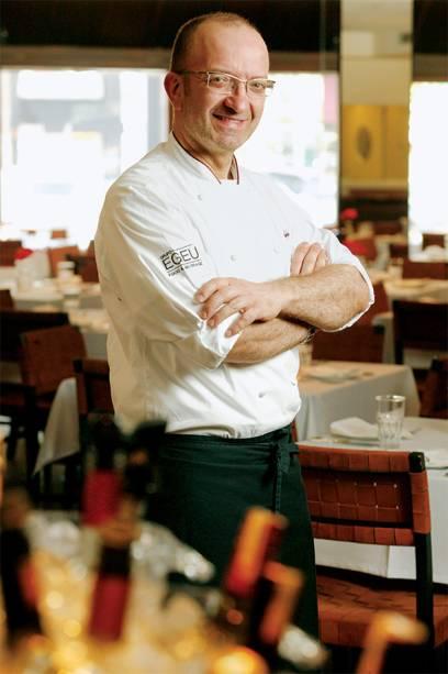 O chef Salvatore Loi