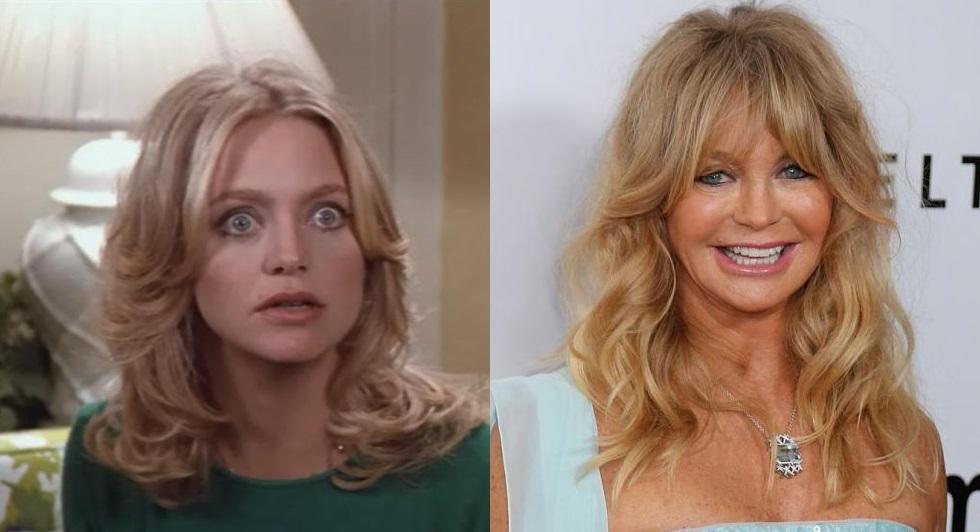Goldie era uma graça na década de 70, e não precisava mexer tanto no rosto