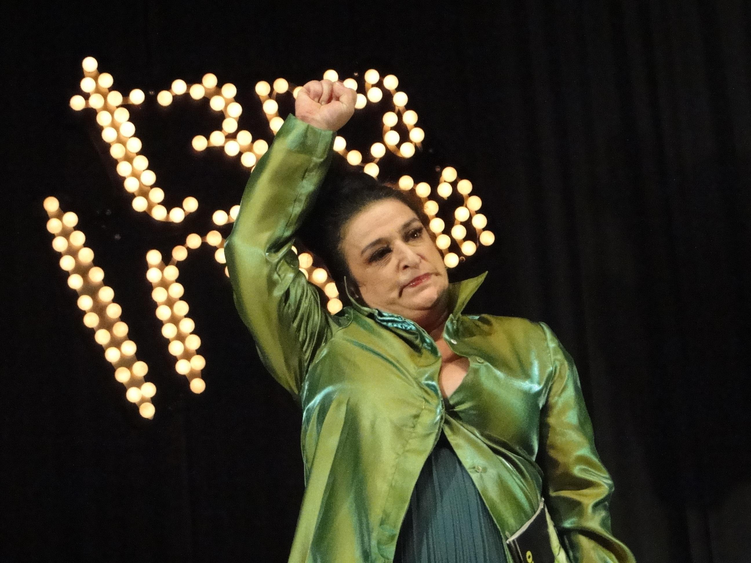 """Grace Gianoukas como a Mulher-Limão"""": personagem marcante da """"Terça Insana"""""""