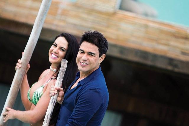 Graciele e Zezé: ele diz que não quer se casar (Foto: Jonatas Gouveia)