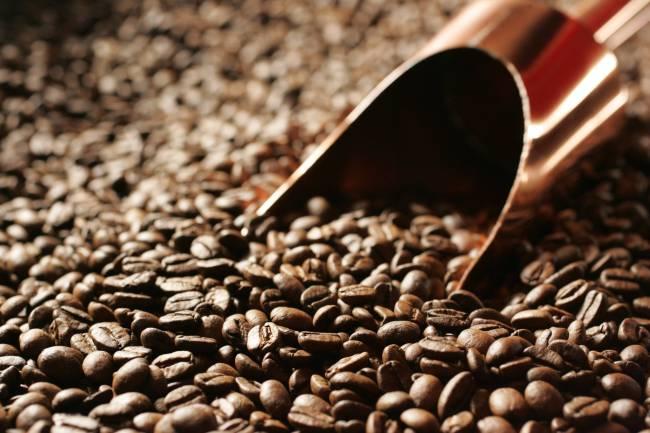 Grãos de café da cafeteria Suplicy Cafés Especiais