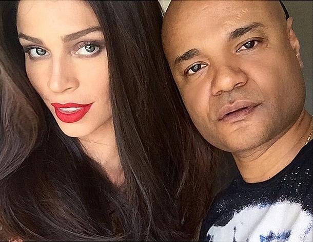 Grazi e o maquiador Ale de Souza (Foto: Reprodução/Instagram)