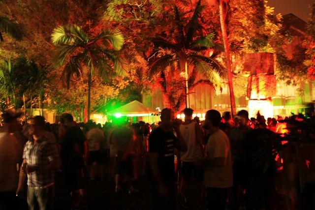 Green Suntet, festa realizada no MIS: problemas de espaço (Foto: Divulgação)