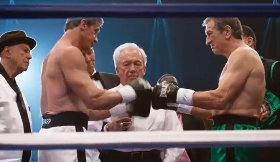 Grudge Match: Stallone e De Niro se enfrentam no ringue