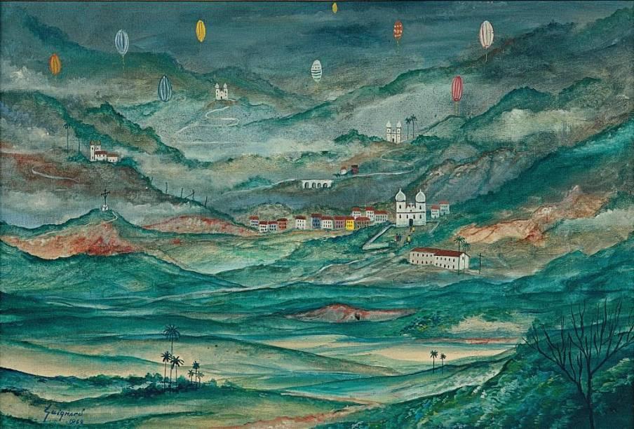Ouro Preto (1960), de Alberto da Veiga Guignard