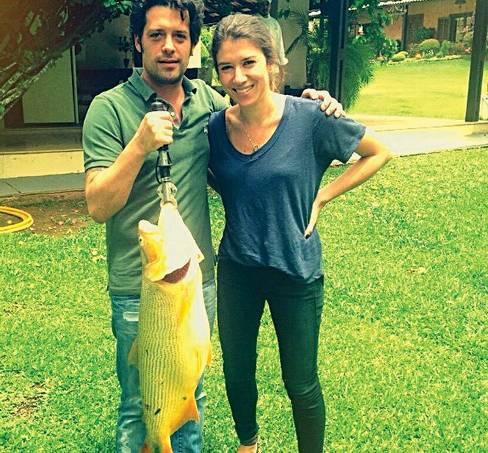 Guilherme Mussi e Rebeca Abravanel