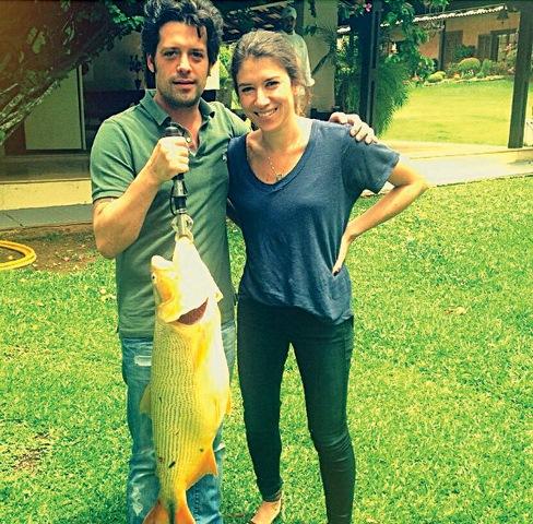 Mussi e Rebeca: ele já conheceu o sogro, Silvio Santos (Foto: Reprodução/Instagram)