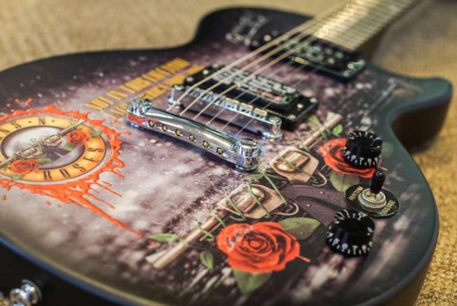Guitarra Les Paul (Foto: Reprodução)