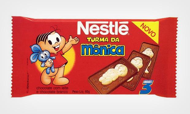 chocolate turma mônica