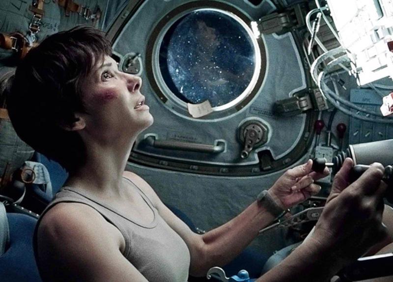 Gravidade: Sandra Bullock