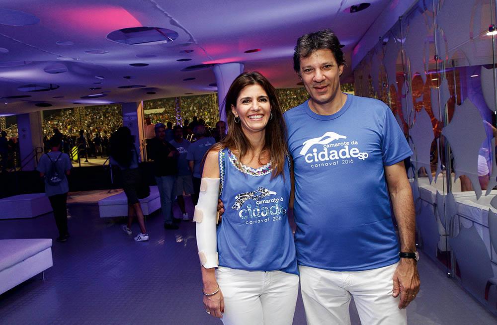 Ana Estela e Haddad: reforma tomou mais de um ano (Foto: Silvana Garzaro / Estadão Conteúdo)