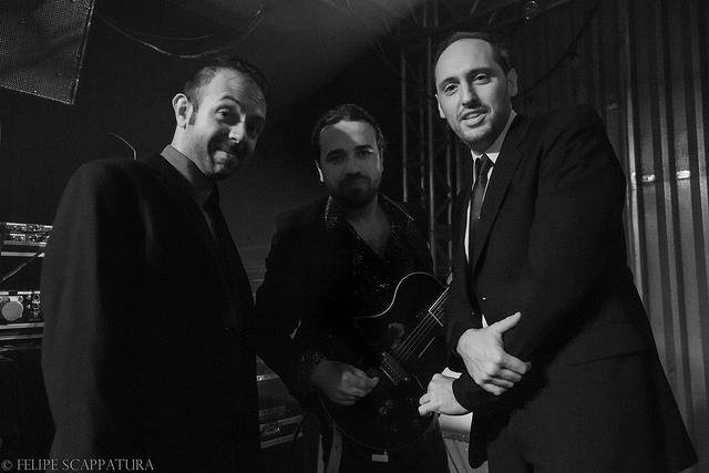 O trio de jazz Hammond Grooves