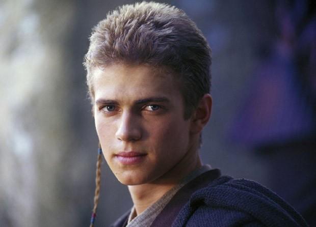 Hayden na época em foi Anakin Skywalker em Star Wars
